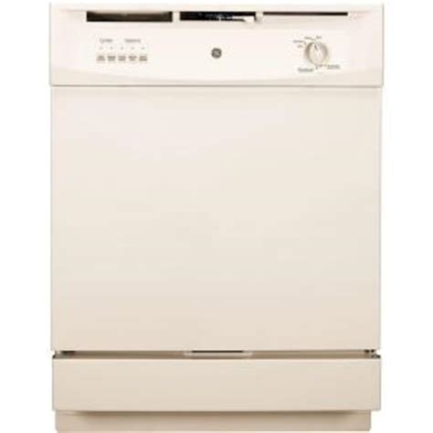 ge front dishwasher in bisque gsd3300dcc the