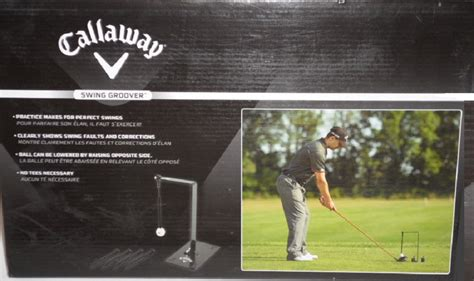 callaway golf swing trainer callaway golf swing groover ct28015