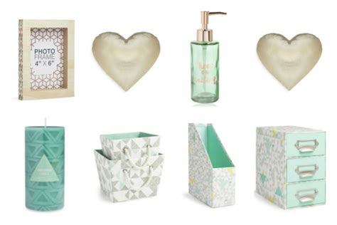 Rose Bathroom Accessories Back To College Accessories From Primark Homeware