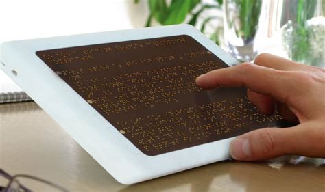 Diy Architecture Software anagraphs electronic braille reader that hooks on to