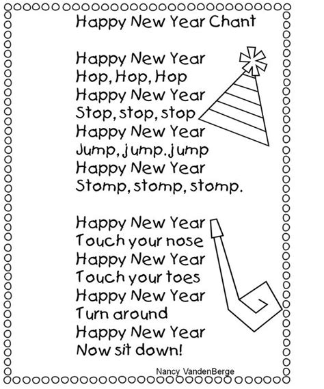 new year preschool new year s grade and happy new year on