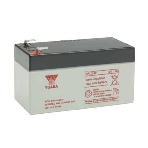 yuasa 12v 1 2ah battery
