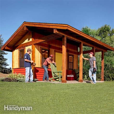 Family Handyman Shed by How To Build A Shed With A Front Porch The Family Handyman