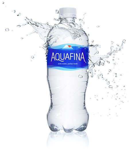 brand new new logo and packaging for aquafina done in house