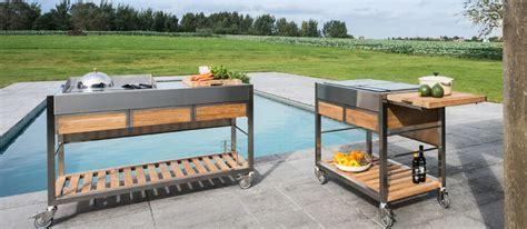 Mobile Outdoor Küche