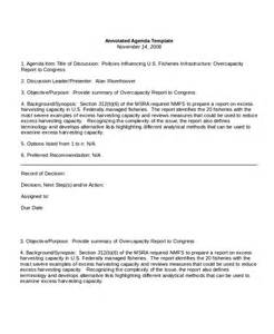 agenda template 12 agenda templates free sle exle format free