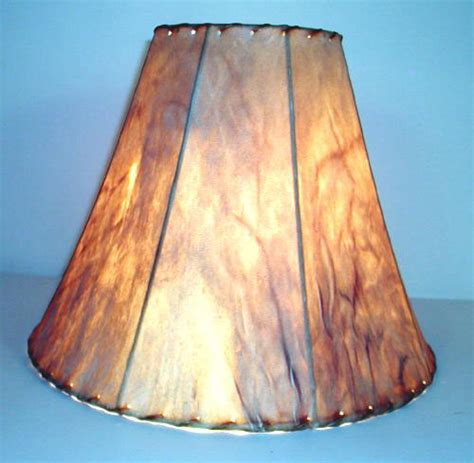 Rawhide Chandelier Lamp Shades Lamp Shades From Antlershed Inc