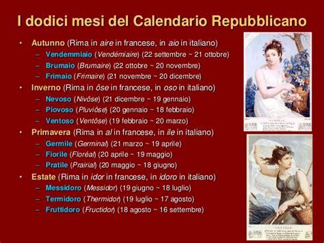Calendario Rivoluzionario Francese 3 2 La Rivoluzione Francese 5