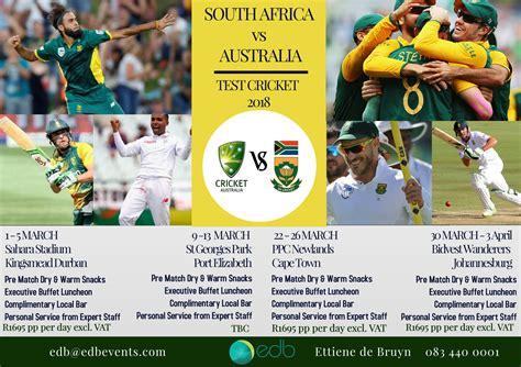 test cricket test cricket 2018 south africa vs australia ppc