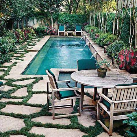 fabulous small backyard designs  swimming pool