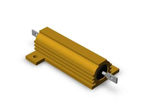 50w resistor resistor 50w mysolidworks 3d cad models