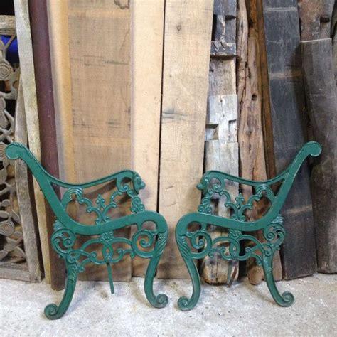 sale cast iron garden bench chair  frames lions