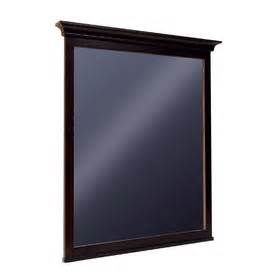frames for bathroom mirrors lowes woodgate kohler style selection wood rectangle bath