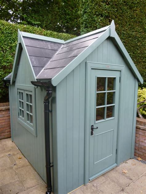 Bespoke Sheds by Bespoke Potting Shed With Slate Effect Roof The Potting