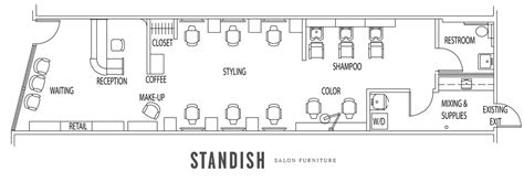 nail salon floor plan nail salon design and layout studio design gallery
