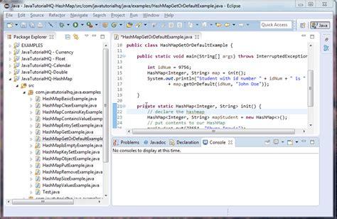 tutorial java util java hashmap getordefault method exle