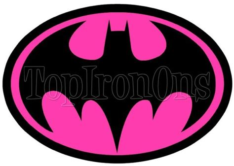 batman tattoo transfers batman logo pink shirt iron on transfer 7 superhero