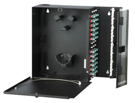 Corning Rack Mount Fiber Enclosure by Corning Cable Fiber Enclosures Wall Mount Connector