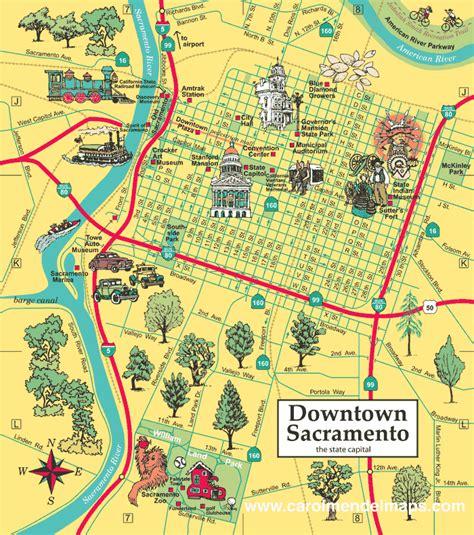 map of sacramento ca downtown sacramento map enlarged birthday ideas