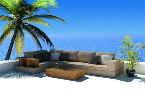 arredamento casa mare foto divano da esterno