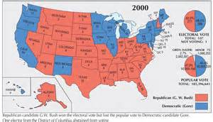 us election map 2000 history 3442 the 2000 election kc johnson
