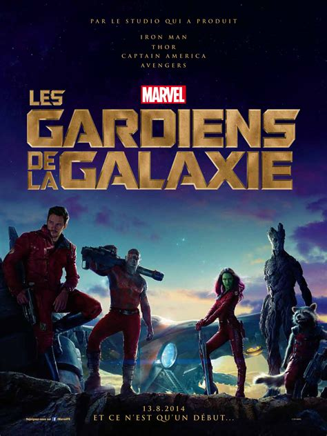 film marvel les gardiens de la galaxie les gardiens de la galaxie affiche allocin 233