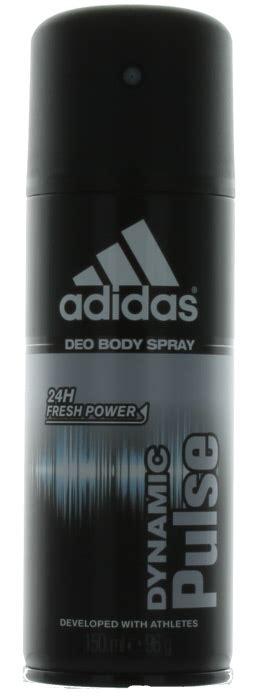 Parfum Adidas Deo Spray dynamic pulse by adidas for deodorant spray 5 oz new