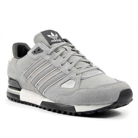 adidas zx 750 solid grey white vapour sneakers classic