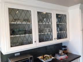 Leaded Glass Kitchen Cabinet Doors Kitchen Cabinet Doors With Diamond Bevels Architectural