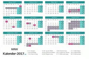 Kalender 2018 Mit Ferien Nrw Ferien Nordrhein Westfalen 2017 Ferienkalender 220 Bersicht