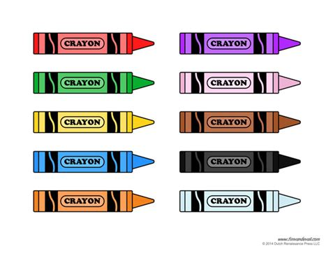 crayon labels template tim de vall comics printables for