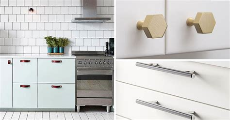 hardware for cabinets for kitchens 8 kitchen cabinet hardware ideas for your home contemporist