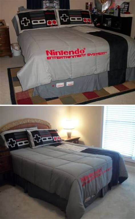 Gaming Bed Sheets by Cool Bedding 12 Coolest Bedding Sets Oddee