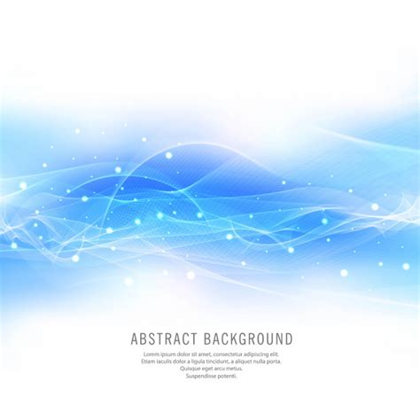 blue wave background abstract shiny blue wave background vector vector free