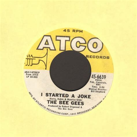 bee gees i started a joke video dailymotion bee gees i started a joke records lps vinyl and cds