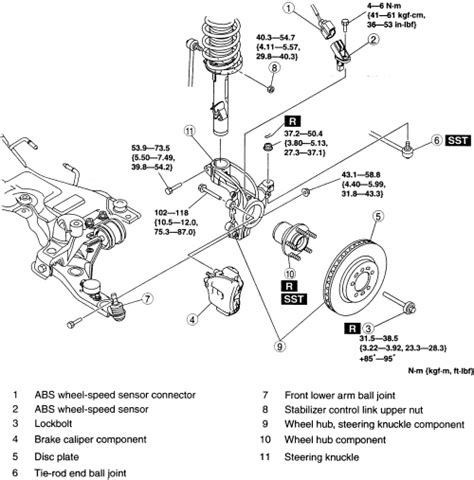 repair guides front suspension steering knuckle