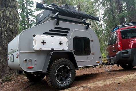 rugged cer trailer the rugged terradrop road trailer is up for any adventure