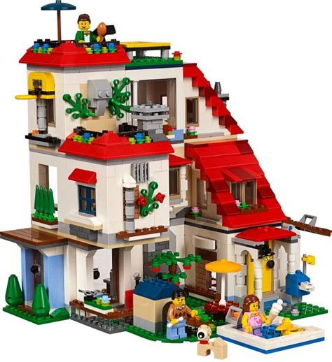 Lego Creator 3in1 31069 Modular Family Villa Ori レゴ クリエイター 2017年新製品カタログ 新米パパの子育てエブリデイ