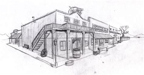 Drawing 2 Point Perspective Buildings by Two Point Perspective Buildings Drawing Www Imgkid