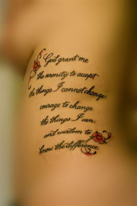 small serenity prayer tattoo 30 devoted serenity prayer tattoos creativefan