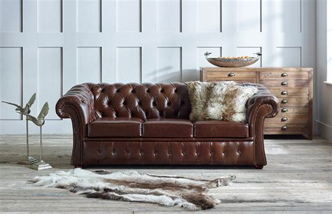 gladbury traditional leather sofa chesterfield company