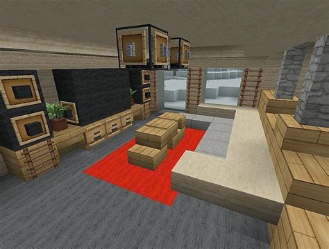 Minecraft Home Interior Ideas | 1 4 2 new interior design concept minecraft project