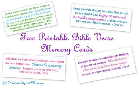 Bible Memory Verse Card Template by 8 Best Images Of Bible Printables Scripture Memory Cards
