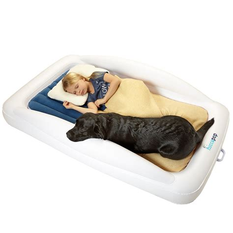 the shrunks sleepover travel bed portable air mattress bed for familes