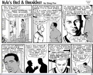 kyle s bed and breakfast homocomix 03 01 2005 04 01 2005