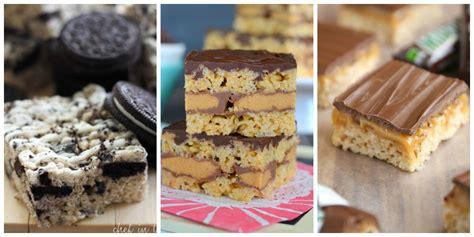 treat recipes 19 rice krispie treats recipes easy dessert recipes