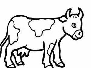 Cow Drawing Outline by Cow Template Animal Templates Free Premium Templates