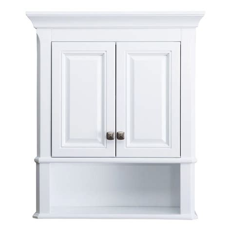 home decorators collection moorpark    bathroom storage wall cabinet  white mpwc