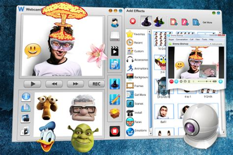 cam efectos free webcam effects software cool video effects skype