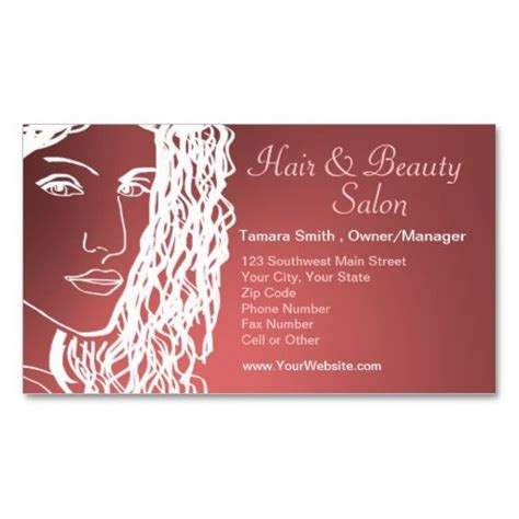 business card template hair choice image card design and